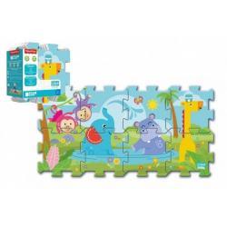 Pěnové puzzle Fisher Price 31 x 32 cm 8 ks v sáčku