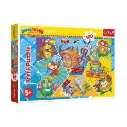 Puzzle Špioni v akci 100 dílků v krabici 29 x 19 x 4 cm