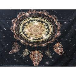 Polyesterová deka - mandala