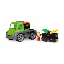 Auto Truxx auto s kontejnery s figurkou plast 28cm