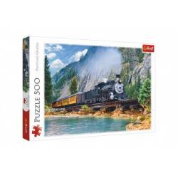 Puzzle Horský déšť 500 dílků 48 x 34 cm v krabici