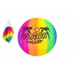Míč plážový gumový nenafouknutý 23 cm v síťce