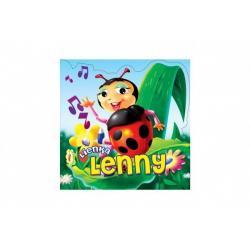 Knížka Lienka Lenny SK verze 18 x 18 cm