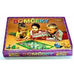 Domečky 2 společenské hry v krabici 34 x 25 x 4 cm SK verze