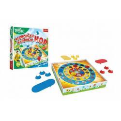 Kloboučku hop Rodina Treflíků společenská hra v krabici