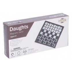 Dáma magnetická společenská hra v krabici 20 x 10 x 4 cm