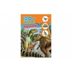 Knížka se samolepkami 120+ Dinosauři CZ verze 30 x 21 cm