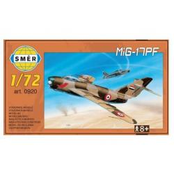 Model MiG-17PF 1:72 v krabici 14 x 25 x 4 cm