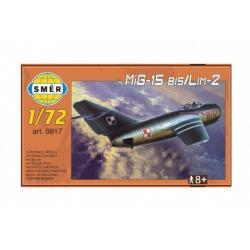 Model MiG-15 bis/Lim-2  1:72 25 x 14 x 4 cm v krabici