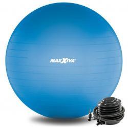 MAXXIVA Gymnastický míč Ø 55 cm s pumpičkou, modrý