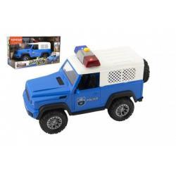 Policejní auto na setrvačník, plast, 23 cm, od 3 let