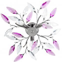 JAGO Stropní světlo s designem listů, A++, průměr 45 cm