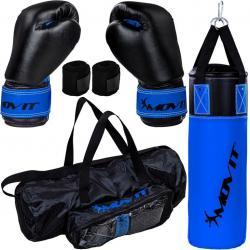 MOVIT Boxovací sada pro děti modrá/černá