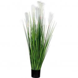 PLANTASIA Umělá květina 120 cm, bílý květ