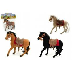 Kůň fliška 20cm 3 barvy v sáčku